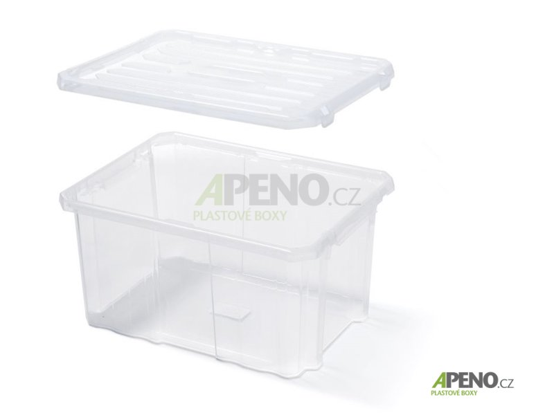 705ae66cd Plastový úložný box NCC24 Prosperplast - Organizéry, kufry, boxy,